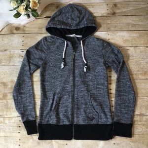 Roxy Black Hoodie Size Small